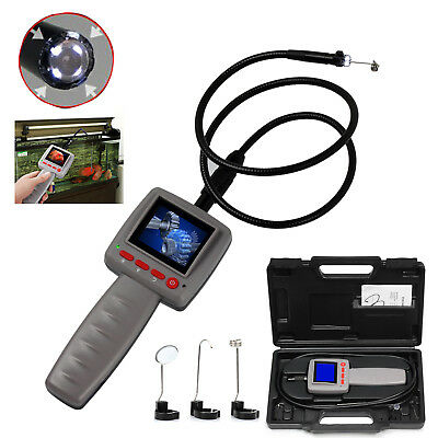 4 LED Digital Video Inspection Borescope Endoscope Pipe Camera Snake Scop 10mm