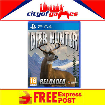 Deer Hunter Reloaded PS4 Game New & Sealed Free Express Post In Stock Now