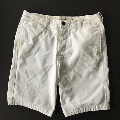 ABERCROMBIE & FITCH Flat Front Button-Fly Casual Shorts