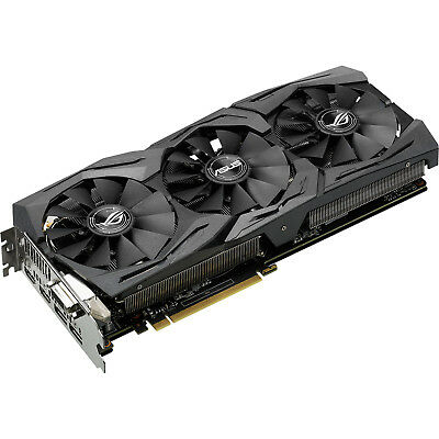 ASUS GeForce GTX 1080 STRIX Advanced GDDR5X 8GB Grafikkarte PCI Express