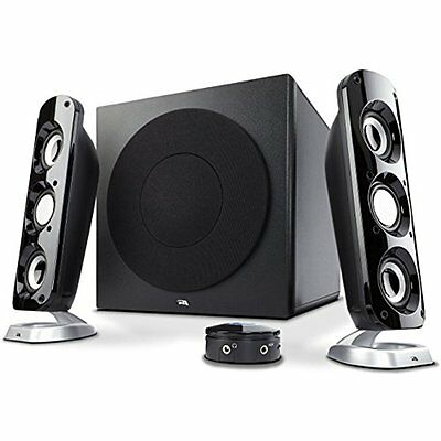 Computer Speakers Cyber Acoustics 92W Powerful Subwoofer, Thunderous 2.1 Gaming