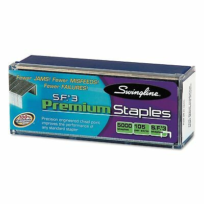 Swingline - S.F. 3 Premium Chisel Point 105 Count Half-Strip Staples 5000 New
