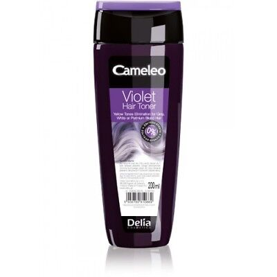 Delia® Colour Hair Rinse Lotion- Purple/Violet toning for Blond, Grey&Bleached!
