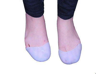 Silicone Gel Toe Caps Soft Ballet Pointe Dance Athlete Shoe Pads for Unisex