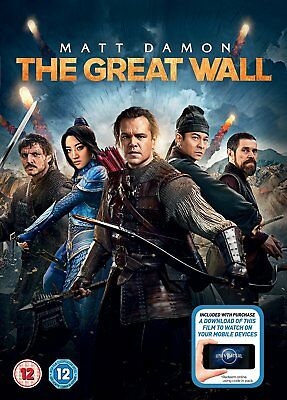 The Great Wall + digital download [2017] [DVD]