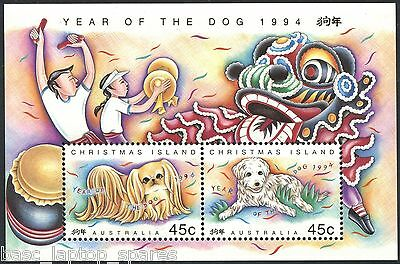 "1997 Christmas Island - Lunar Year ""Year of the OX"" Mini Sheet"