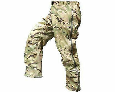 Genuine British Army Issue Lightweight Multicam MTP GoreTex Waterproof Trousers