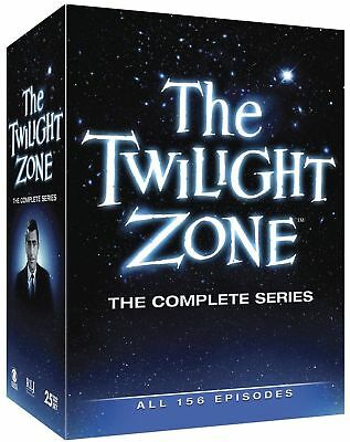 The Twilight Zone: The Complete Series 1-5 (DVD, 2013, 25-Disc-Set) 1 2 3 4 & 5