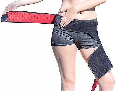 Groin Support Brace Band - Leg Thigh Quad, Hamstring Hip Joints Muscle Recovery
