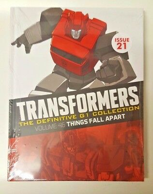 TRANSFORMERS  DEFINITIVE  G1 COLLECTION, = ISSUE 21 = THINGS FALL APART = vol 46