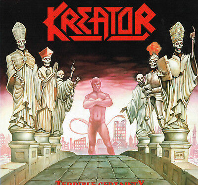 Kreator - Terrible Certainty, orig.first press. by German Thrash Metal band