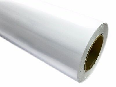 """24"""" X 50 yards (150 ft)  Roll of glossy white Vinyl Adhesive Cutter Adhesive"""