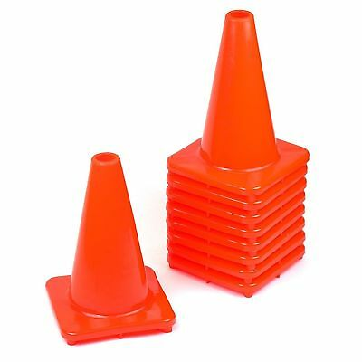 """RK PVC Traffic Safety Cone, 12"""" Inch Construction Safety Cones -Orange"""