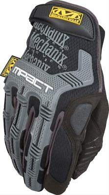 Mechanix M-Pact Impact Protection Black and Gray Gloves (MPT-58-009, Medium)