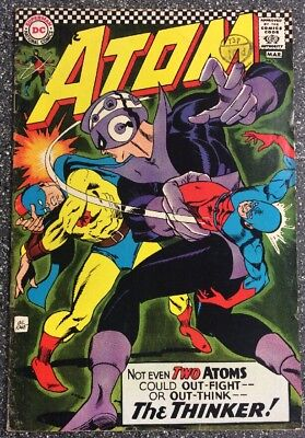 The Atom #29 (1967) Feat Golden Age Atom Team-up