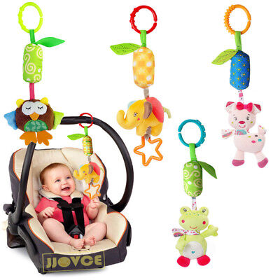 Baby Gift Infant Toys Mobile Plush Toy Bed Wind Hanging Rattles Stroller Toy