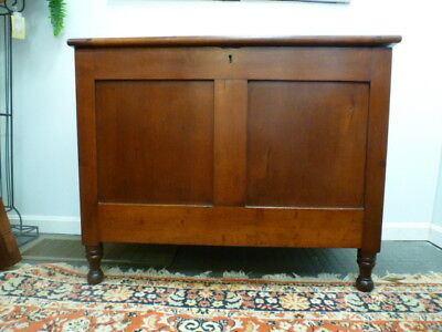 Antique Southern Cherry Two Part Sugar Chest