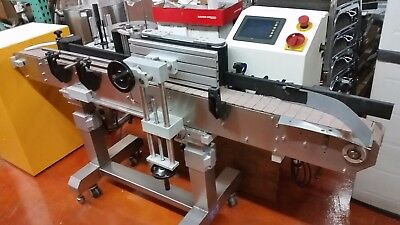 Accutek Labelette APS-106 Inline Automatic labeling system
