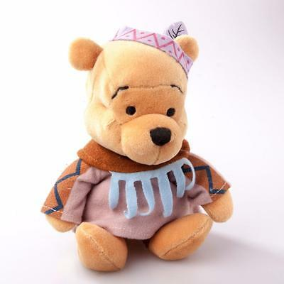 Walt Disney Company Indian Winnie the Pooh Beanie Bear DN14501 No tags