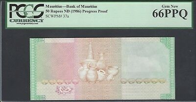 Mauritius 50 Rupees ND(1986) P37ap Proof Uncirculated