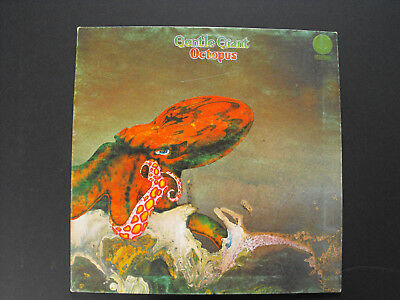 Gentle Giant. Octopus. UK Vertigo Swirl. Gatefold 1972. Nice copy. Rare!!!