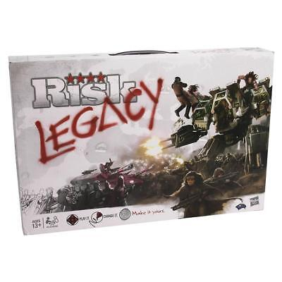 Risk Legacy Board Game History Strategy World Military Cards Dice Betrayal CHOP