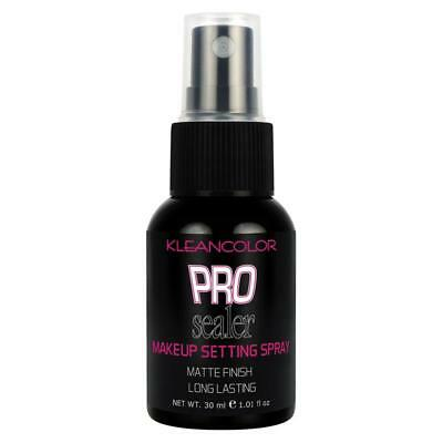 KLEANCOLOR Pro Sealer Make Up Setting Spray Matte Finish 1 Oz