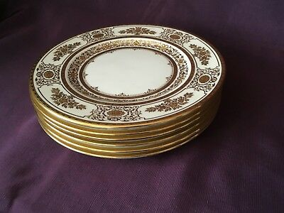 Mintons Tiffany & Co New York H.4965R Made in England Desert Plates  6  -  7 ¾""