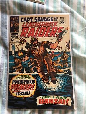 Captain Savage 1 Very Good Cond Rare