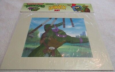 Teenage Mutant Ninja Turtles Original Animation Art Cartoon Cel Donatello Mws