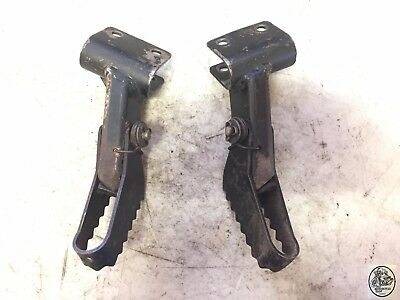 1981 Can Am Qualifier 125 Iv Foot Rests Pair Oem