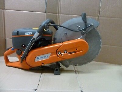 "Husqvarna  K760 14"" Concrete Cut off Saw with diamond blade and water system"