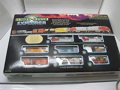 Bachmann Explorer  N-Scale E-Z Track Train Set System Plus Bonus Car 1998 U.S.A.
