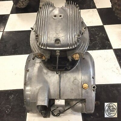 1970 Bsa A65 Lightning Complete Motor Engine Original Stock 71-1033 Oem