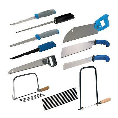 Woodworking Pad Drywall Double Sided Hand Saw Soft-Grip Handle Tool Set