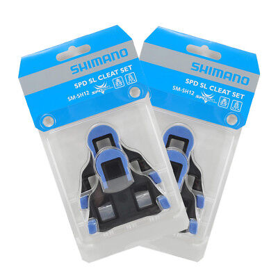 Shimano SM-SH12 Road Bike Cleats - BLUE - 2 Sets NEW Bicycles Online
