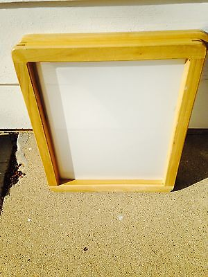 SILK SCREEN FRAME for SCREEN PRINTING (8x12) 180 mesh White or ...