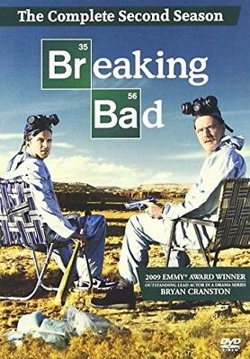 Sealed New BREAKING BAD THE COMPLETE SECOND SEASON DVD REGION 1 *Free Ship*