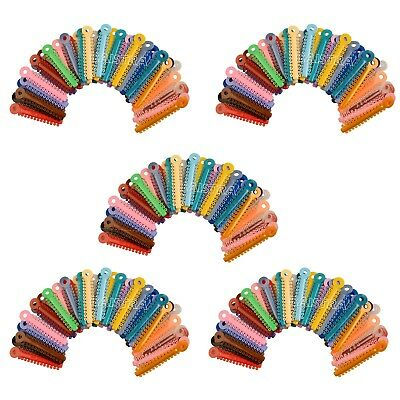 AZDENT 5X Dental Orthodontic Accessory Ligature Ties Multi-Colored 1014pc/Pack