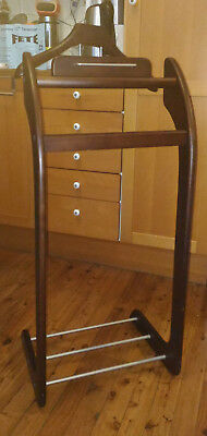 Timber & Metal Valet Clothing Coat Stand GUC P/Up Dul Hill Syd