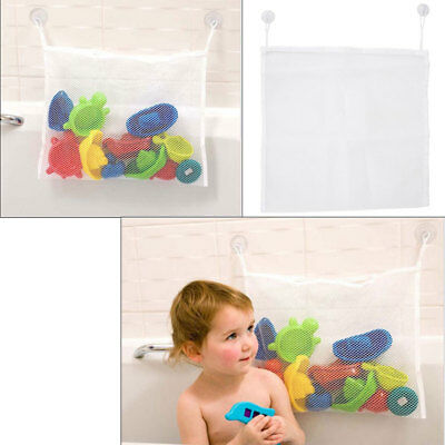 New Baby Bath Shower Toy Tidy Storage Bag Bathroom Organiser Net Mesh Kids Child