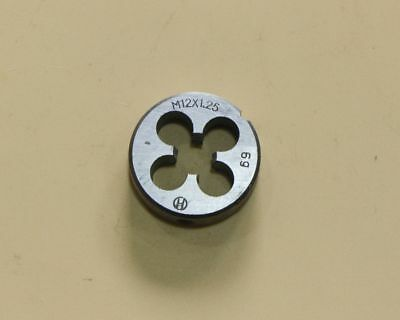 HSS 12mm x 1.25 Metric Die Right Hand Thread M12 x 1.25mm Pitch  Ship from USA
