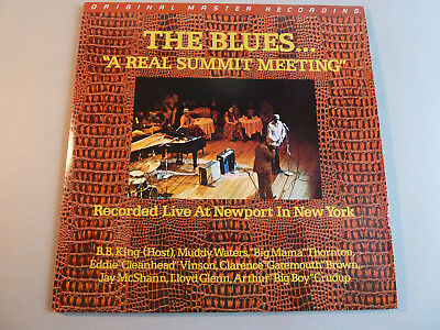 The Blues A Real Summit Meeting-Mobile Fidelity Sound Lab-Orig Master Recording!