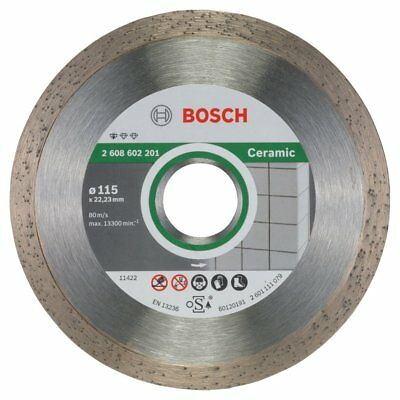 Bosch Angle Grinder Diamond Cutting Disc Blade Standard for Ceramic 115 mm New