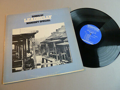 Songs By Leadbelly Midnight Special - Rar Folkways Record-Us Press