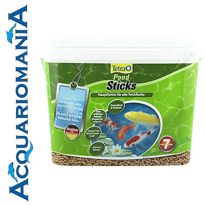 Tetra Pond Sticks Mangime base per Laghetto 7 litri 780g Secchiello