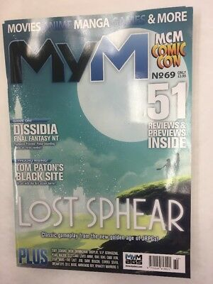 Mym Magazine Of Mcm Comic Con Issue 69 December 2017 Exclusive Lost Sphear