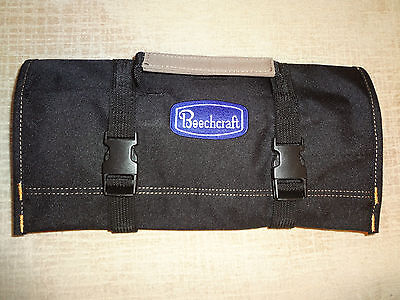 "BEECHCRAFT Logo/D-18 S/B200/D-17 Staggerwing ""NEW ALL BLACK"" !!!! TOOL ROLL"