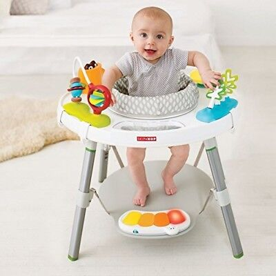 Baby Activity Center Learning Play Sit Swivel Bounce Rotating Seat Musical Toy