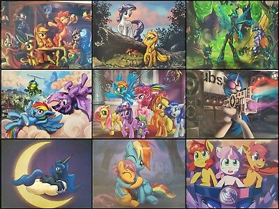 MLP My Little Pony Poster Rainbow Dash Fluttershy Applejack Rarity Twilight Spa.